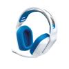 G335 žične gaming slušalke - bele