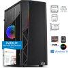 PC BOF ZZERO R5 3600 16GB 1TB M.2 RTX2060 W10