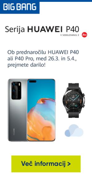 Prednaroči novi Huawei P40   P40 Pro   P40 lite
