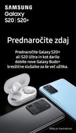 Prednaroči novi Samsung Galaxy S20 S20+ S20 Ultra