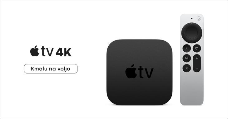 Apple TV 4k kmalu pri nas!