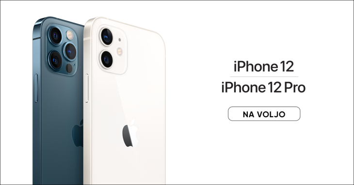 Apple iPhone 12 že na voljo