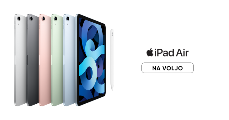 Apple iPad Air 4 že na voljo