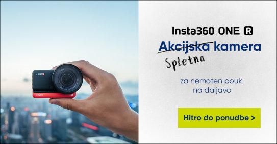 Insta360 spletna kamera