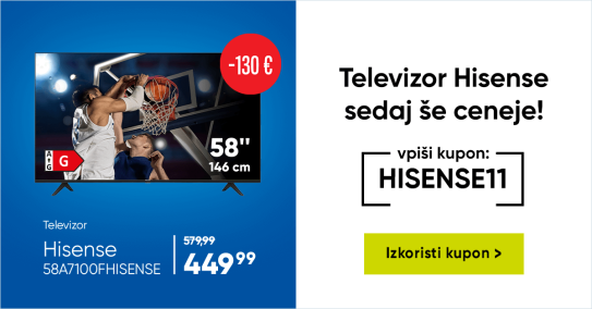 Hisense TV koda