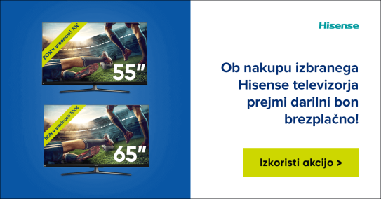 Hisense TV + Big Bang bon