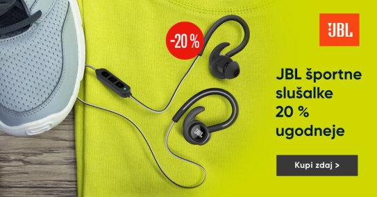 JBL športne slušalke - 20%