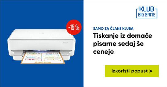 KLUB HP tiskalnik