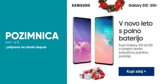 Samsung Glaxy s10|S10+ darilo: polnilna postaja
