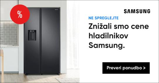 Akcija Samsung hladilnikov