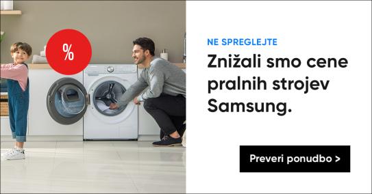 Akcija Samsung pralnih strojev