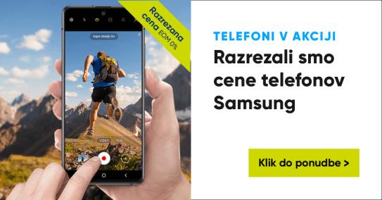Samsung telefonija razrezana april