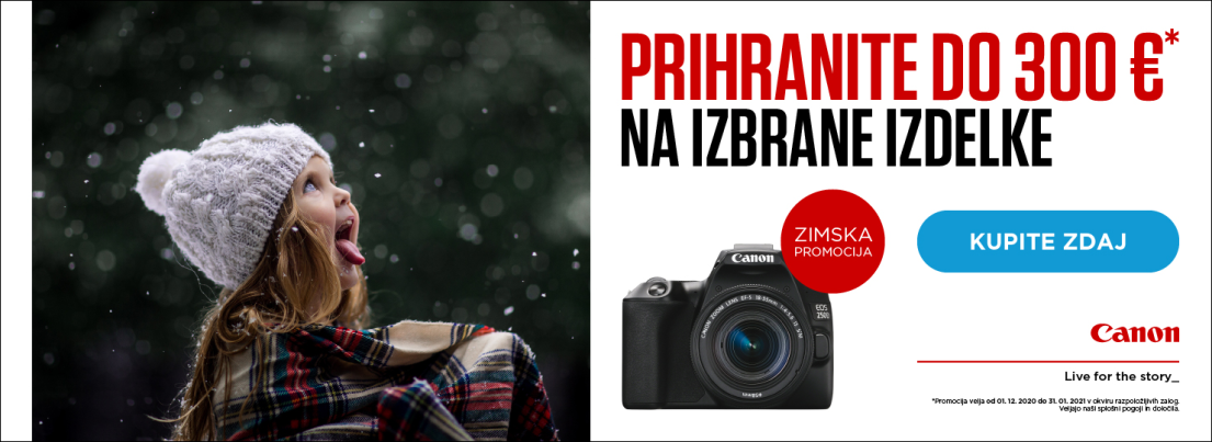 Canon Winter Cashback