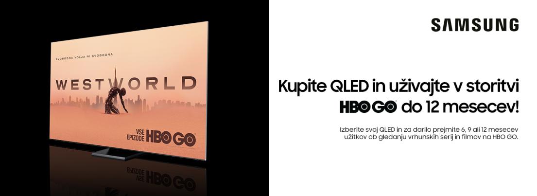 Samsung QLED + HBO GO