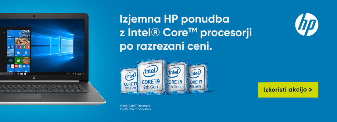 Izjemna HP ponudba z Intel Core procesorji po razrezani ceni.