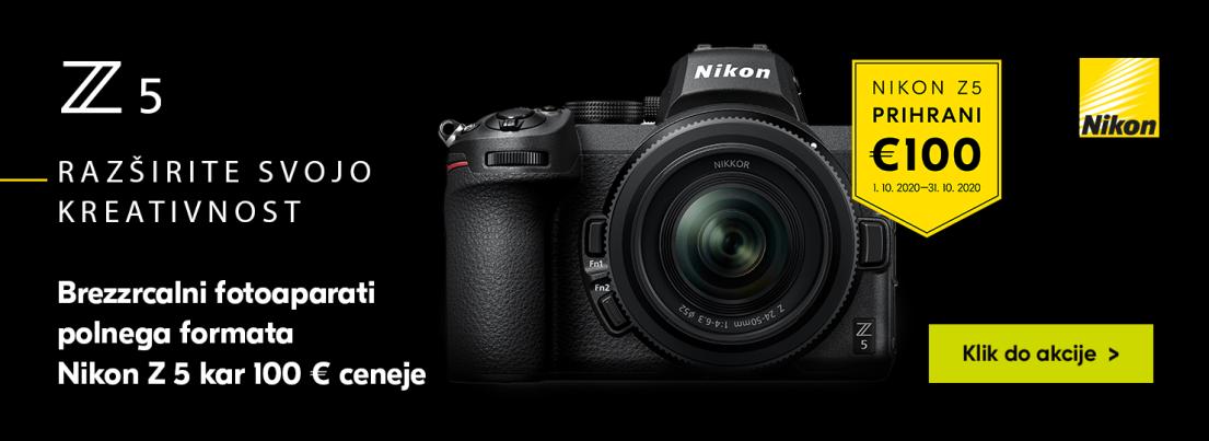 Nikon Z 5 Prihrani 100 €