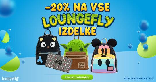 Loungefly znižanje