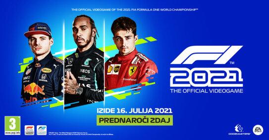 F1 2021 prednaročilo