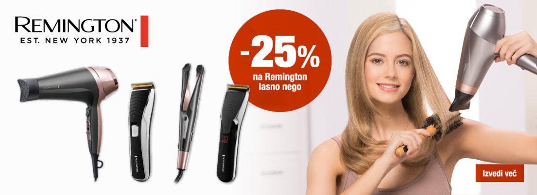 Remington nega las -25 %